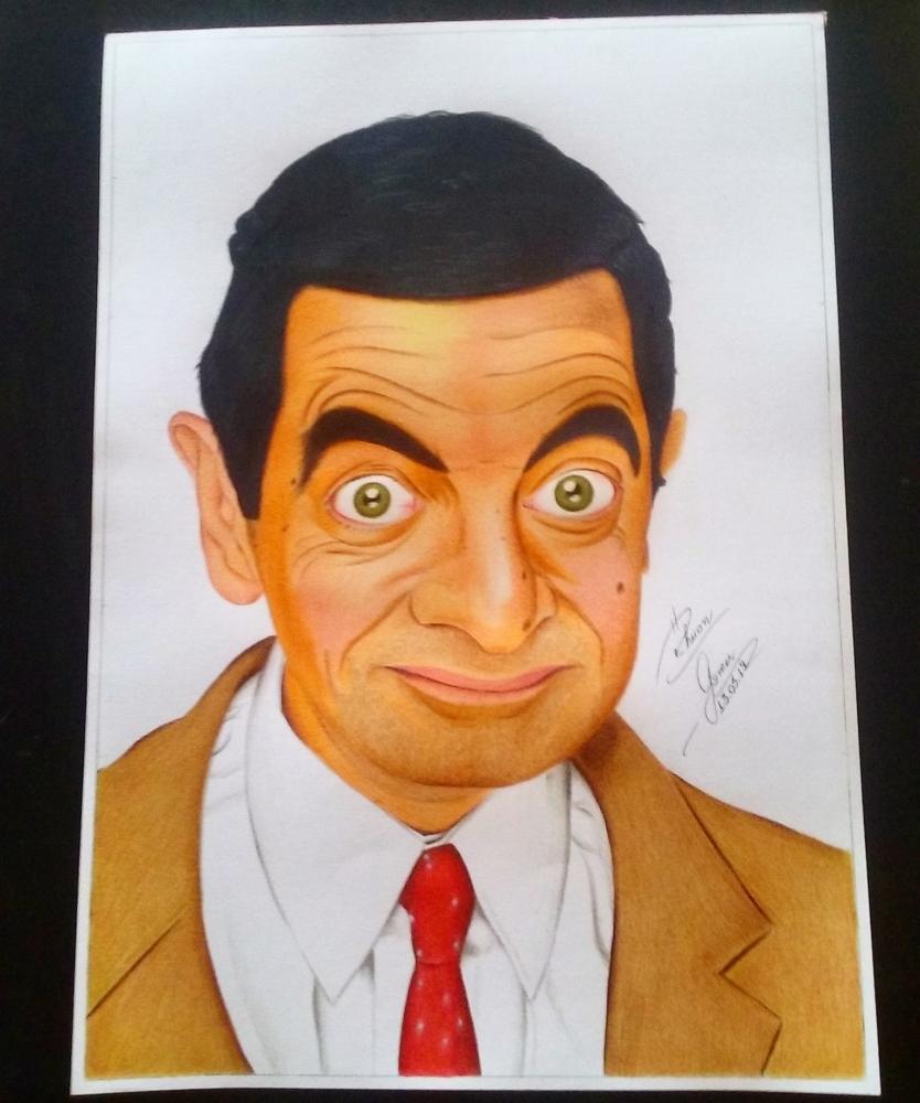 Rowan Atkinson by RhuanG